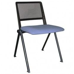 Silla confidente Star 3 tapizada