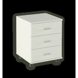 Buck de 3 cajones Kit serie blanco soft