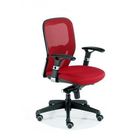 Silla oficina ergonomica operativa Busto - Mobiocasión
