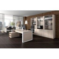 Despacho OMEGA tipo 1 mueble auxiliar derecha