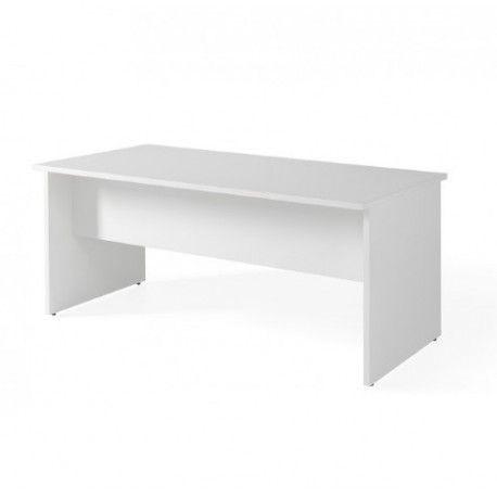 Mesa de oficina Serie COLOR Blanco/Olmo de 140-160 CM