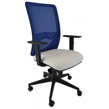 Silla oficina ergonomica operativa Caplin sin cabecero - Mobiocasión