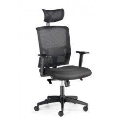 Silla de oficina NEIVA, grueso asiento, mecanismo syncro, brazos regulables 1D