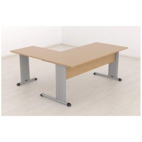 Mesa de oficina operativa con ala pata Eco C / 354,86€