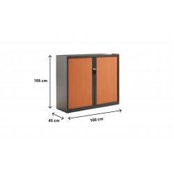 Armario persiana Altura 105 cm Ancho 80-100 ó 120 cm