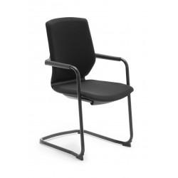 Oferta Silla confidente OXFORD de Euromof, color negro