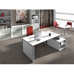 Despacho OMEGA tipo 2 mueble auxiliar