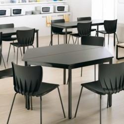 Mesa para aula forma trapezoidal estructura perimetral medidas a elegir serie DAI