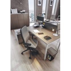 Silla de escritorio ergonómica BLAZE negra uso 8 horas