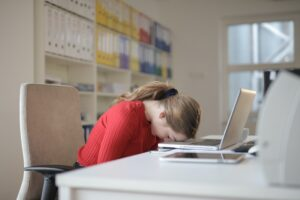 estrés en la oficina