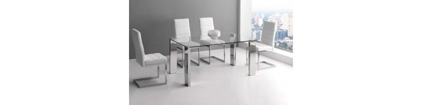 Mesas de oficina de cristal - Mobiocasión