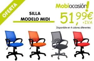 Silla modelo MIDI a 51,99€ +IVA